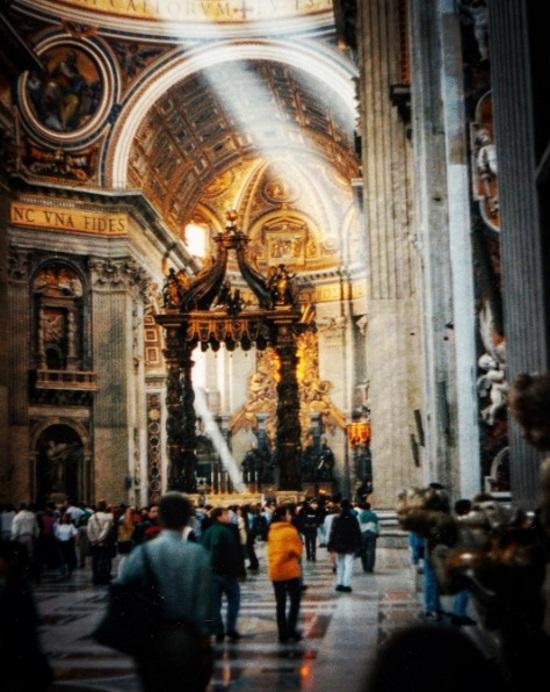 St Peter's Basilica, 1996