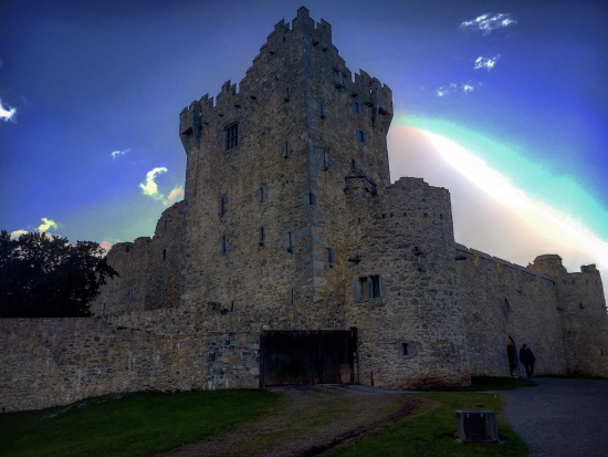 Killarney Castle, Ireland.