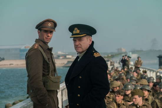 James D'Arcy and Kenneth Branagh - Dunkirk